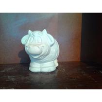 Hermosas Alcancías De Yeso Ceramico Blancas Para Pintar Vaca