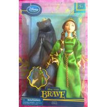 Princesa Merida Muneca De Reyna Elinor Tienda Disney Store