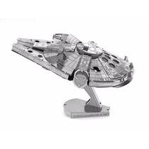 Rompecabezas Nano 3d Metálico Star Wars Millenium Falcon