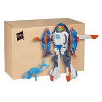 Transformers Figura Copter-bot Helicóptero Bot Blakhelmet Sp