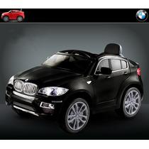 Carrito Pila Camioneta Bmw X6 Suv Mp3 Luces Control Remoto
