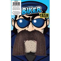 Biker Traje - Novedad Tash Vestido De Lujo Del Pelo Facial