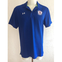 Playera Polo Cruz Azul Color Azul Marca Under Armour 2015