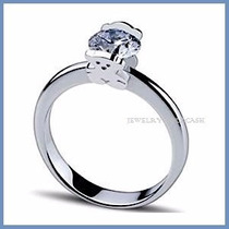 Anillo De Compromiso Diamante Natural .20ct Oro 14k -50% 023