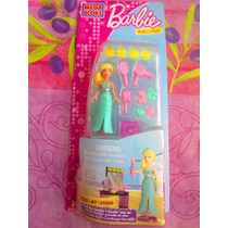 Barbie Mega Bloks Set De Miniaturas Barbie Estrella De Cine
