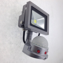 Reflector Led 10 Watts Sensor De Movimiento 850lumenes6000k