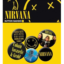 Nirvana Placa - Smiley Pack De Rock Grunge Emo Fan