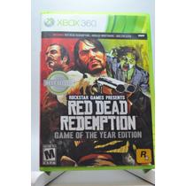 Red Dead Redemption: Game Of The Year Edition Xbox 360