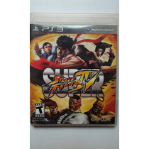 Ps3 Super Street Fighter Iv $280 Seminuevo - Vendo / Cambio