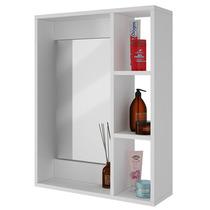 Gabinete Pared Para Baño Con Espejo Y Repisas Bbn 03-06