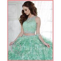 Vestido De Xv Años 15 Quince 3 Piezas Fashion Desmontable