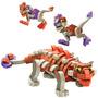 Dinosaurios Armables Juguetes Para Niños Foamy Velociraptor