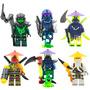 Sw7 Ninjago Morro Cowler Ronin Ghoultar Compatibles Con Lego