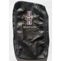 Funda Mustang Descansabrazo Guantera Piel Caballo Bandera