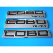 Emblemas Lobo Triton Ford Camioneta Kit