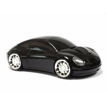 Internet Optical Mouse Con Forma De Flamante Carro Porsche