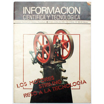 Información Tecnológica # 55 Los Motores Stirling Conacyt