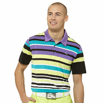 Playera Polo Puma Golf Xl Rayada