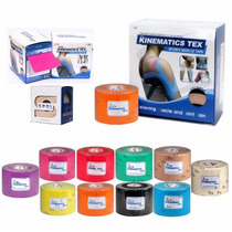 Vendaje Neuromuscular Kinesio Tape Kinematics Tex 5 Cm X 5 M