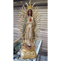 Virgen De Gpe Bordada A Mano