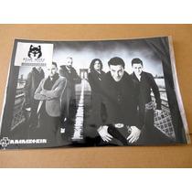 Colección Carpeta De 5 Posters Rammstein (30.5 X 45.5cm)