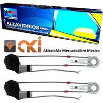 Alzavidrios Audimax Con Interface Automatizado De 2 Ventanas