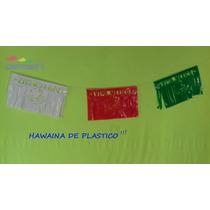 Papel Picado Plástico Hawaina Tricolor Fiestas Patrias