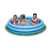 Kiddie Pool - Intex - Inflable Crystal Blue Piscina Para Niñ