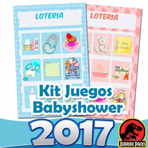Kit Juegos Para Babyshower Kit Imprimible Baby Shower 2016