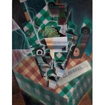 Lienzo Tela Naturaleza Muerta Juan Gris Cubismo 1915 65 X 50