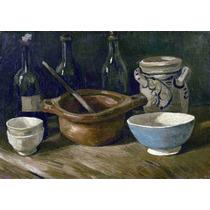 Lienzo Tela Naturaleza Muerta Vincent Van Gogh 50 X 70 Cm