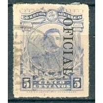 Sc O149 Año 1921 Oficial Maclovio Herrera 5c Hombres Ilustre