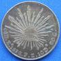 Moneda 8 Reales Zacatecas 1897 Plata Patina Tornazol S/circ