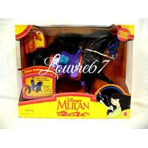 Disney Mulan Khan Caballo Real Riding Nuevo Louvre67