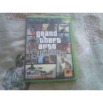Juego Grand Theft Auto Gta San Andreas Xbox Y Xbox 360