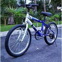 Bicicleta Montaña R20 Sin Velocidades