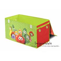 Caja Organizadora De Juguetes De Vegetales Animados