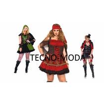 Disfraz Talla Extra Grande Leg Avenue Robin,gitana,halloween