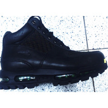 Botas Caminata Nike Air Max Acg Goadome Piel Waterproof Gym