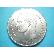 Venezuela 5 Bolívares Fecha 1990 Niquel