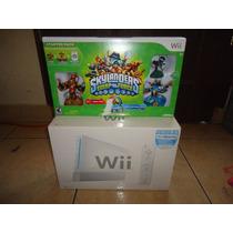 Nintendo Wii Compatible Con Juegos De Gamecube + Skylanders