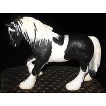 Caballo Percheron Schleich 2003 No Papo Vaca Toro Perro