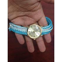 Reloj De Pulsera Con Piedreria. Fotos Reales. 299 Con Envio