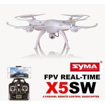 Drone Syma X5sw Wifi Blanco, Entrega Inmedita D.f.
