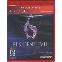 Resident Evil 6 Ps3 Caja Roja Venta Y Cambio