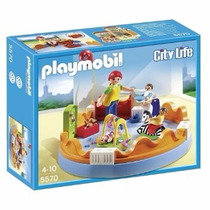 Playmobil 5570 Zona De Bebes Guarderia Ciudad Retromex