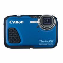 Cámara Canon Powershot D30 (cámara Acuática)