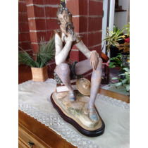 Figura De Lladro Don Quijote