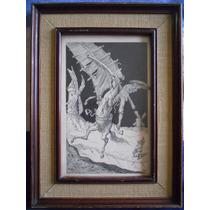 Catrux Dibujo Don Quijote Y Los Molinos De Viento