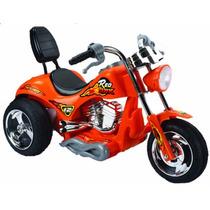 Mini Moto Electrica Red Hawk Juguete Regalo P/ Niños Naranja